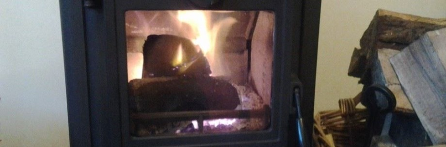 Simon Wilton of SPW Chimney Sweeps in Dollar Clackmannanshire, services wood burning stoves